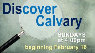 Discover Calvary